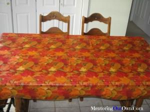 Vinyl Table Cloth 001
